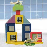 """Набор плавающих блоков для ванны """"Аэропорт"""" 3+, Just Think Toys"""