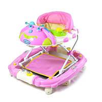 Ходунки детские с качалкой Baby Tilly 22188 PINK