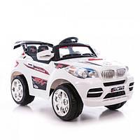 Электромобиль детский джип BMW F 948 R на р/у белый