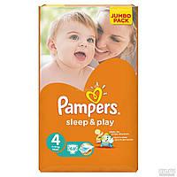 Подгузники Pampers Sleep&Play 4 (7-14 кг) JUMBO PACK 68 шт