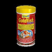 Тetra (Тетра) Основной корм в хлопьях для улучшения окраса золотых рыбок Goldfish Colour 100мл