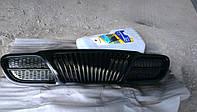 Решетка радиатора Ланос Сенс черная (оригинал)