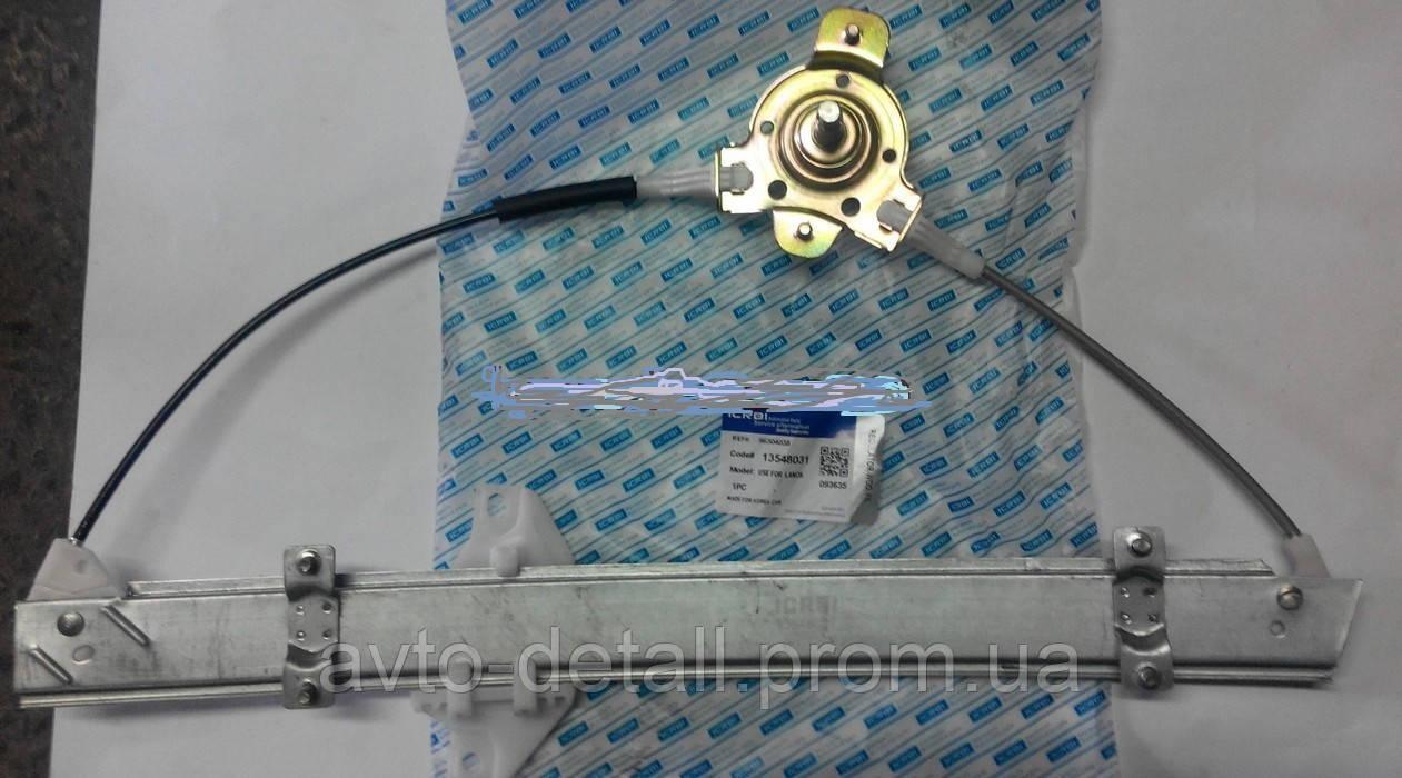 Стеклопод'емник передній лівий механічний Ланос Сенс (CRB)