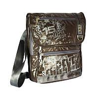 Молодежная сумка Grizzly ММ-240-2 brown