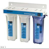 Трехступенчатая система фильтрации воды SF-10-3 Насосы+Оборудование