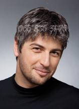 Мужской парик из славянских волос