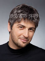 Мужской парик из славянских волос, фото 1