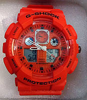 Часы наручные мужские CASIO G-SHOCK GA-100 в коробке 1010