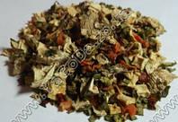 Приправа с грибами (грибы, паприка красная и зеленая, морковь, корень пастернака, лук-порей, орегано