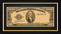 Банкнота 5000$