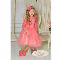 Роскошное платье для девочки Viani МД 199/2 Размер 3-4 года