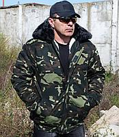 """Куртка-пилот зимняя """"Украина""""(дубок )"""