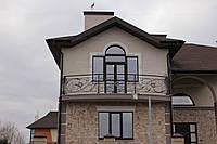 Кованое балконное ограждение, фото 1