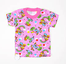Цветная футболка детская (M893)   12 шт., фото 2