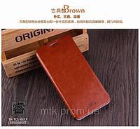 Чехол-книжка MOFI для телефона TCL S950/S950T коричневый
