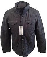 Зимняя мужская куртка стеганая с мехом