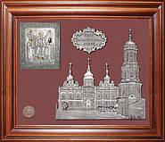Коллаж Успенский собор с иконой Богородицы Печерская в Киеве — 069