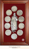 Коллаж Медали на княжение Великого князя Владимира