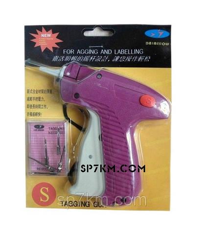 Игольчатый пистолет для бирок. + 5 иголок  140 гр, фото 2