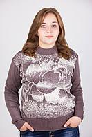 Кофта женская 609 больших размеров Батал