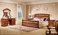 Спальня FL-1605 (1,8 м. с механизмом) Орех (раскомплектовуется)