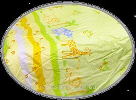 """Пододеяльник для детского одеяла в кроватку """"Сафари"""" 145х105 см, ТМ Ромашка"""
