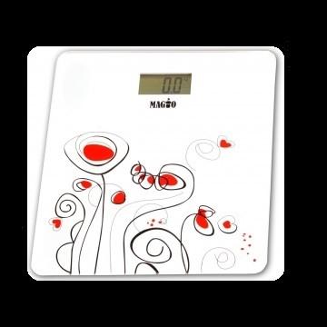 Напольные весы  до 150 кг Magio mg 300 белые