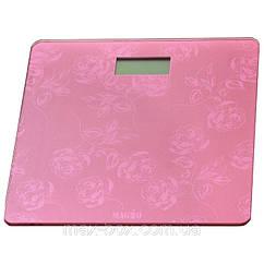 Весы напольные Magio mg 305 до 150 кг розовые