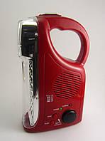 Светодиодный фонарь+радио Horoz HL 319LR, фото 1