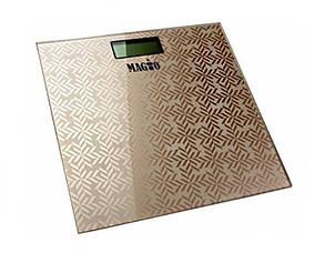 Напольные весы Magio mg 309 до 180 кг (золотой)