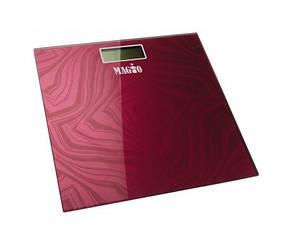 Весы напольные Magio mg 310 до 180 кг гранат