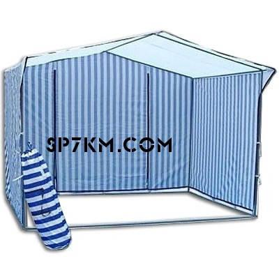 Торгова палатка: 2х2. Верх прогумований.Каркас з 25-тої труби., фото 2