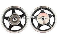 Диск колеса 2.15 * 10 (задний барабан) (легкосплавный 19 шлицов) TATA
