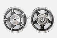 Диск колеса 2.5 * 10  (задний, барабан ,легкосплавный, 19 шлицов) TATA