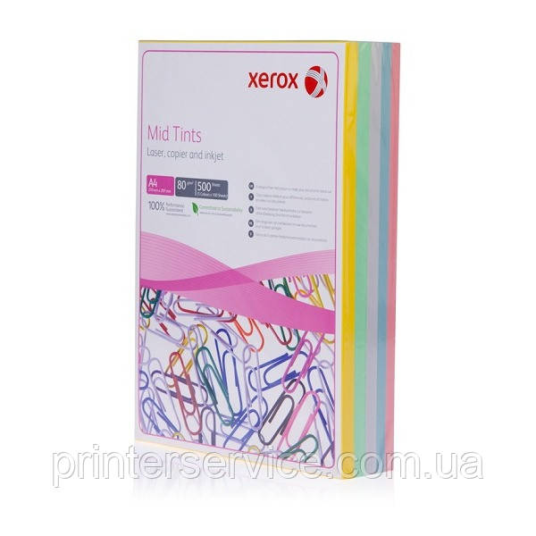 Бумага Xerox SYMPHONY Mid Rainbow Pack (80) A4 500л (003R97501)