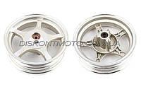 Диск колеса 2.5 * 10 (передний, диск ,легкосплавный, 19 шлицов) ZY