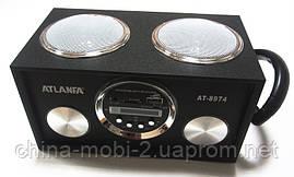 Акустика Atlanfa AT-8974 MP3/SD/USB/FM/, black, фото 3