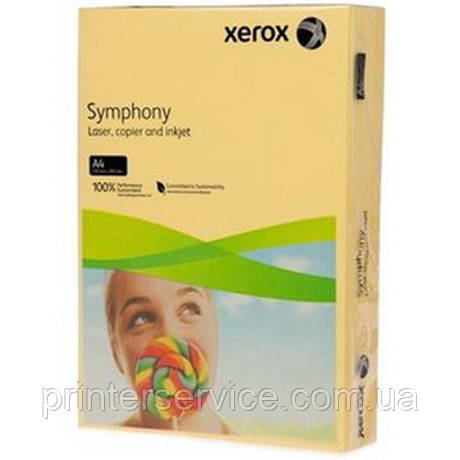 Цветная бумага Xerox SYMPHONY Mid Sun Yellow (80) A4 500л.