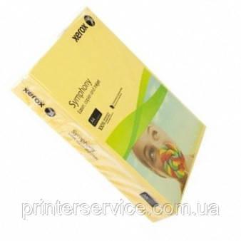 Цветная бумага Xerox SYMPHONY Mid Sun Yellow, (160) A4  250л. (003R92305)