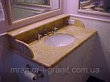 Столешница из мрамора для ванной, фото 4