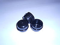 Заглушка для трубы 48 мм круглая наружная пластиковая, фото 1
