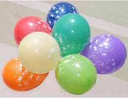 """Воздушные шары """"Бабочки""""12""""(30 см) пастель ассорти  В упак:100шт.  ТМ """"Gemar"""""""