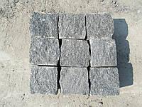 Брусчатка колотая габбро отборная 10х10х5 улучшенной геометрии