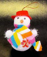 Ёлочная игрушка-Снеговик-7,0 см.-12 шт.