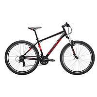 "Велосипед 27,5"" Apollo ASPIRE 10 рама- L 2017 Gloss Black/Gloss Red/Gloss White"