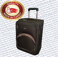 Малый турецкий чемодан на двух внутренних прорезиненных колёсах фирмы CCS