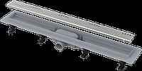 Водоотводящий желоб с порогами для перфорированной решетки AlcaPlast APZ8-550M