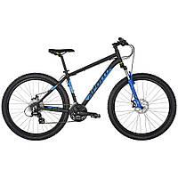 """Велосипед 27,5"""" Apollo ASPIRE 20 рама- L 2017 Matte Black/Matte Blue/Matte Lime"""