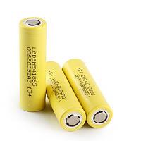 LG 18650HE4 2500mah 20А - высокотоковый аккумулятор для электронных сигарет. Оригинал