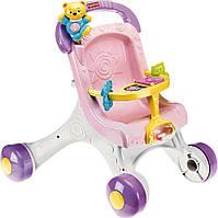 2 в 1 - Ходунки-толкатель и коляска для кукол Fisher-Price